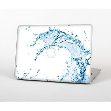The Water Splashing Wave Skin Set for the Apple MacBook Pro 15""