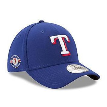 Ivan Pudge Rodriguez Texas Rangers New Era 39THIRTY Hall Of Fame Stretch Hat Cap