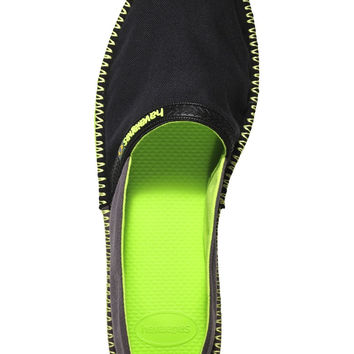 Origine Espadrilles in Black and Dark Grey by Havaianas