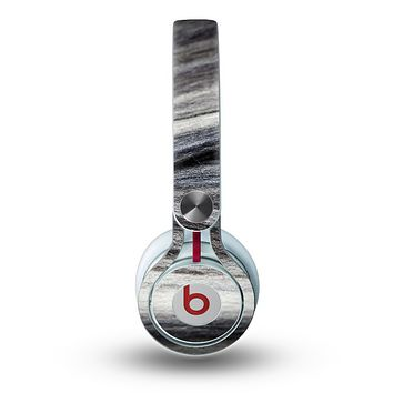 The Dark Colored Frizzy Texture Skin for the Beats by Dre Mixr Headphones