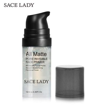 SACE LADY Face Primer Natural Matte Make Up Foundation Pores Invisible Prolong Makeup Base Facial Skin Oil-control Cosmetic