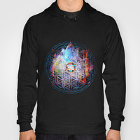 Flower of life Galactic Merkaba ;] Hoody by Nate4D7 | Society6