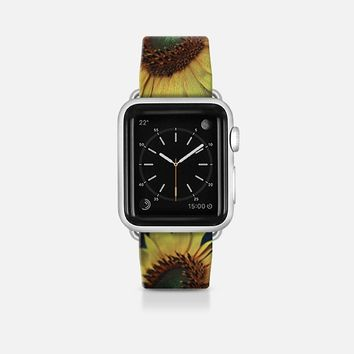 Sunflower 02 Apple Watch Band (42mm)  by VanessaGF | Casetify