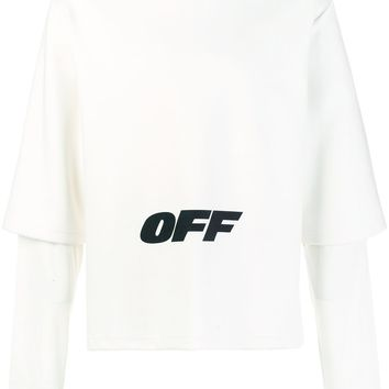 "Oversize Layered ""OFF"" Sweatshirt by OFF-WHITE"