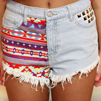 Tall Tale Tribal Shorts