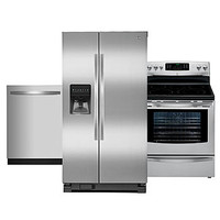 Kenmore 3 Piece Kitchen Suite - Stainless Steel - Appliances - Appliances Bundles - Kitchen Suites