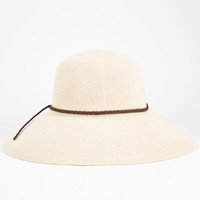 Woven Womens Floppy Hat | Hats