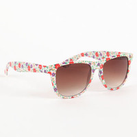 With Love From CA Print Frame Sunglasses at PacSun.com