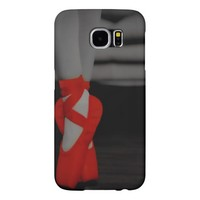 She Danced Red Ballet Samsung Galaxy S6 Cases