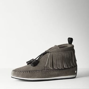 Rag & Bone - Ghita Moccasin, Taupe Suede