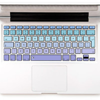 Laptop Decal Macbook Hp pavilion keyboard Skin Decal Sticker Macbook keyboard decal Macbook Decal Keyboard Sticker Macbok Violet blue ombre