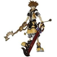 Kingdom Hearts 2: Sora Master Form Action Figure