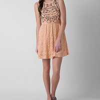 Women's Embellished Dress in Orange by Daytrip.