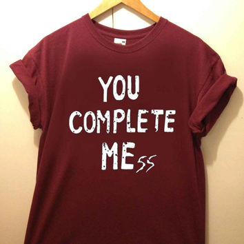 You Complete Mess tshirt for merry christmas and helloween