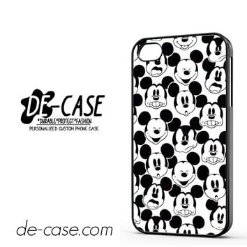 Mickey Mouse Wallpaper For Iphone 4 Iphone 4S Case Phone Case Gift Present YO