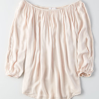 Don't Ask Why Off-The-Shoulder Top, Blush