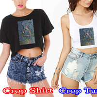alt-j bcf43de3-b6fb-4eff-80f2-b0461cded494 For Crop Shirt and Crop Tank Sexy Shirt Women S, M, L, XL, 2XL*02*