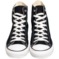 CONVERSE CHUCK TAYLOR HIGH IN BLACK - SNEAKERS - DEPARTMENTS Federal