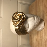 ROSE KNOT HEADBAND-GOLD-4TH OF JULY
