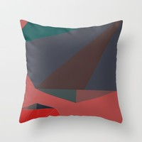 Shape Play 2 Throw Pillow by Ducky B
