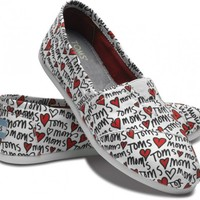 TOMS Loves Moms White Vegan Classics