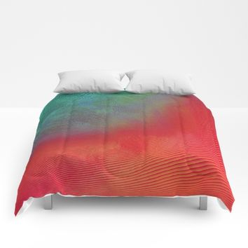 Feels Tropical Good Comforters by DuckyB