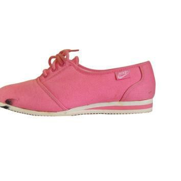 Vintage Women Nike Shoe Pink Sneaker Nike Sneaker Women Shoe Pink Shoe Canvas Shoe Ten