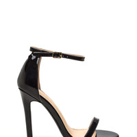Skinny Feels Strappy Faux Patent Heels