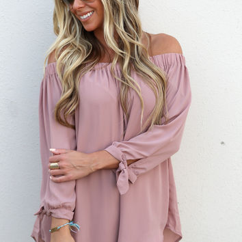 Summer In Paris Top {Mauve}