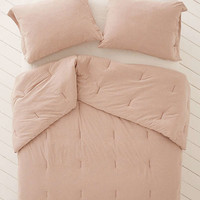 T-Shirt Jersey Comforter | Urban Outfitters