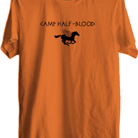 Camp Half Blood T-shirt Percy Jackson Halloween Costume Print Unisex Fitted