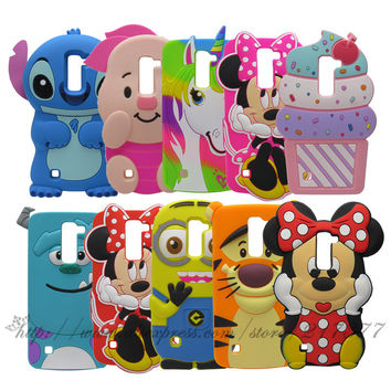 For LG Stylus 2/G Stylo 2 cases 3D Cute Stitch
