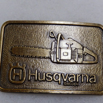 Husqvarna Chainsaw Belt Buckle