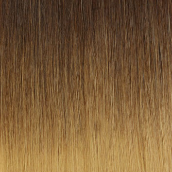 OMBRE - Dark Brown (2B) to Dirty Blonde (#18) - 20""