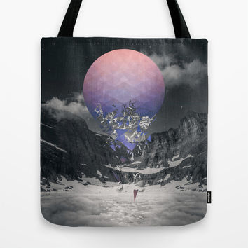Fall To Pieces III Tote Bag by Soaring Anchor Designs | Society6