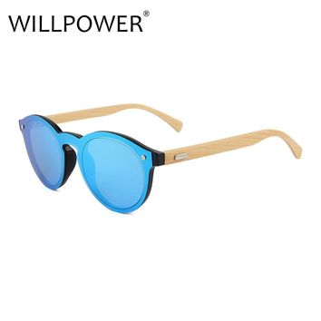 WILLPOWER Wooden Sunglasses Bamboo brand sun glasses Vintage Wood beach Sunglasses for Driving