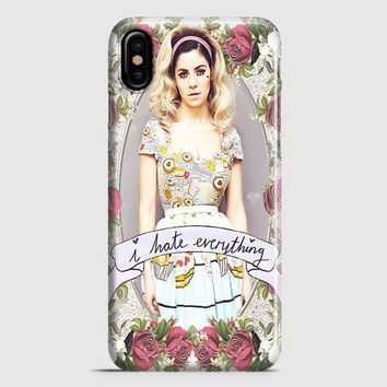 Marina And The Diamond  I Hate Everything iPhone X Case