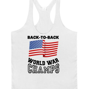 Back to Back World War Champs Mens String Tank Top