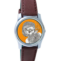 Holy Smoke | Line Art Wrist Watch