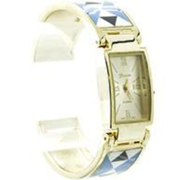 Geneva Anchor Cuff Fashion Watch