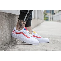 VANS 1966 OLD SKOOL White Sneaker Casual Shoes