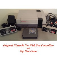 Original Nintendo Nes Video Game Console