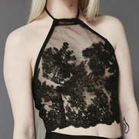 Ritual Lace Halter Top