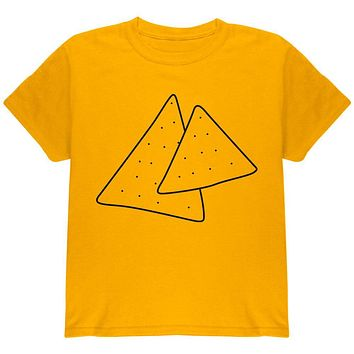 Halloween Tortilla Chips Food Costume Youth T Shirt