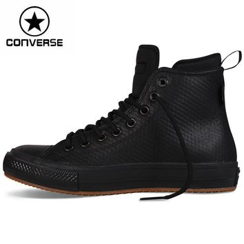 original new arrival 2016 converse chuck ii boots unisex skateboarding shoes leather s