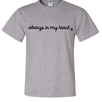 "Larry Stylinson ""Always in my Heart"" T-Shirt"