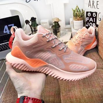 Adidas Alpha Bounce New fashion couple running mesh high quality shoes