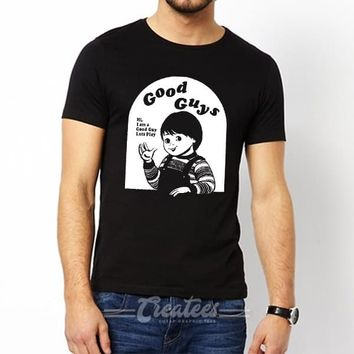 Customize Chucky t shirt Unisex cheap graphic tees size S-5XL
