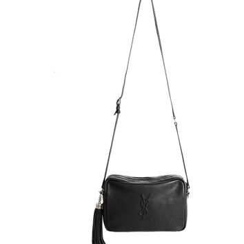 Saint Laurent Small Mono Leather Camera Bag | Nordstrom