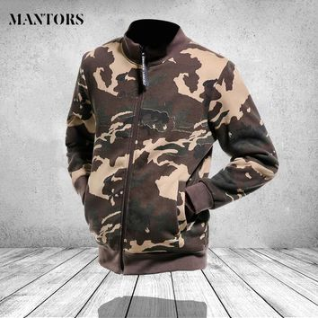 Trendy Camouflage Bomber Jacket Men Clothes 2018 Autumn Casual Army Military Slim Fit Zipper Coats Pilot Men Hip Hop Jackets Streetwear AT_94_13